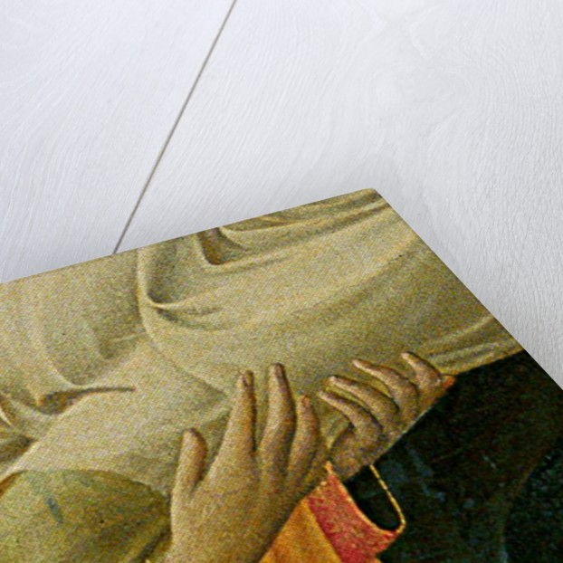 Detail of Santa Trinita Altarpiece by Fra Angelico
