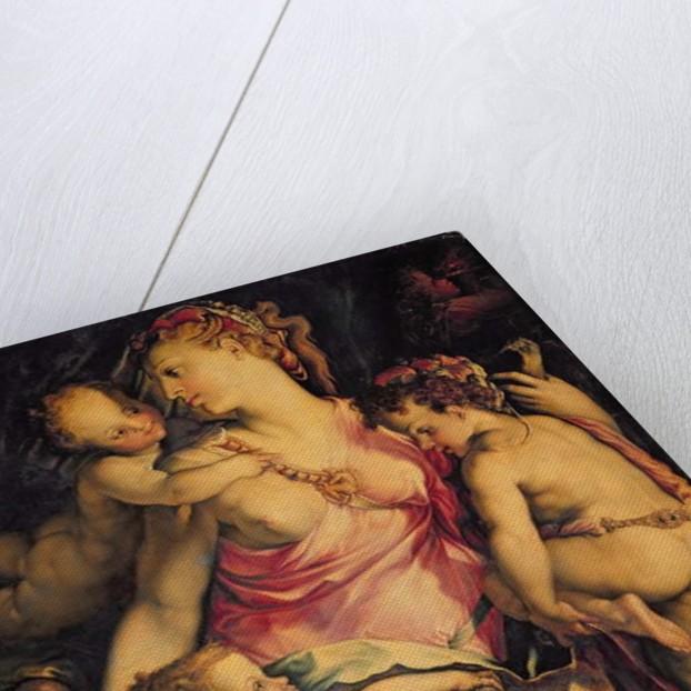 Charity by Francesco de Rossi Salviati Cecchino