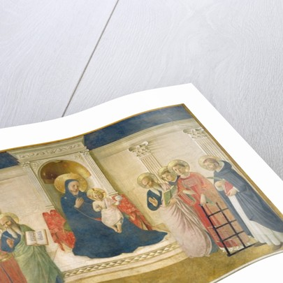 The Madonna delle Ombre, 1450 by Fra (c.1387-1455) Angelico