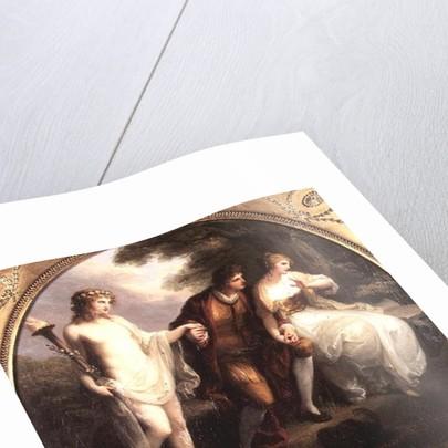 Abelard presenting Hymen to Heloise by Angelica Kauffmann