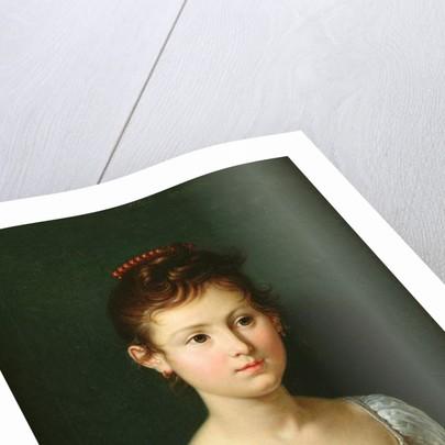 Portrait of Napoleone Baciocchi 1812 by Francois Xavier Fabre