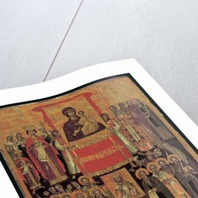 The Restoration of the Icons by School Cretan