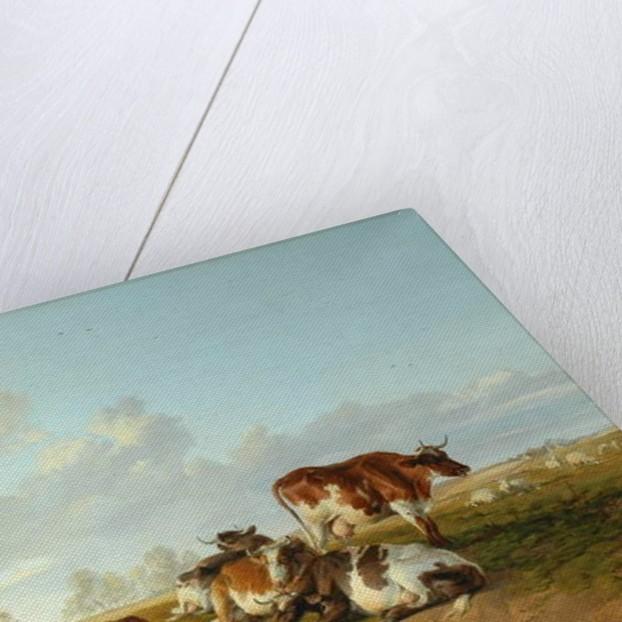 Landscape with a Cattle near Wool, Dorset by Arthur Douglas Peppercorn