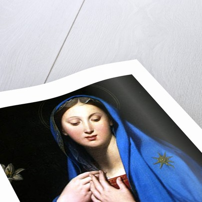 Virgin of the Adoption, 1858 by Jean Auguste Dominique Ingres