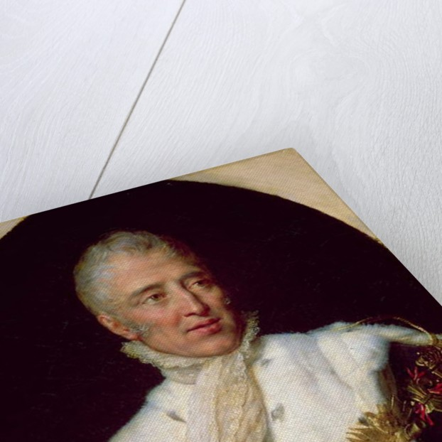 Portrait of Charles X King of France by Georges Rouget