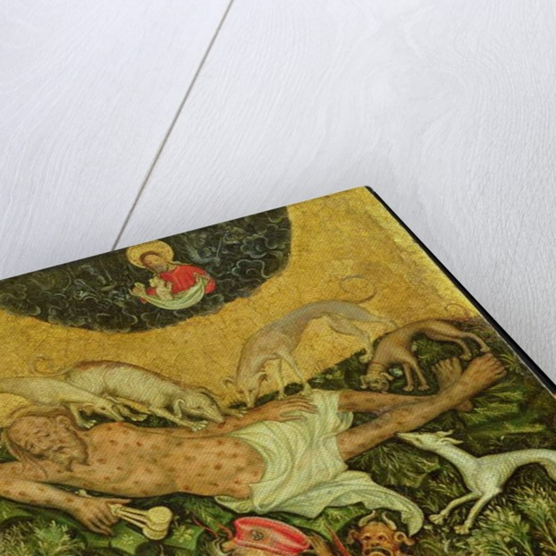 Lazarus and the Rich Man, c.1400 by German School