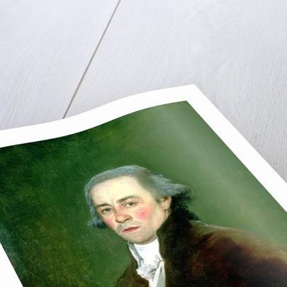 Juan Antonio Melendez Valdes, 1797 by Francisco Jose de Goya y Lucientes