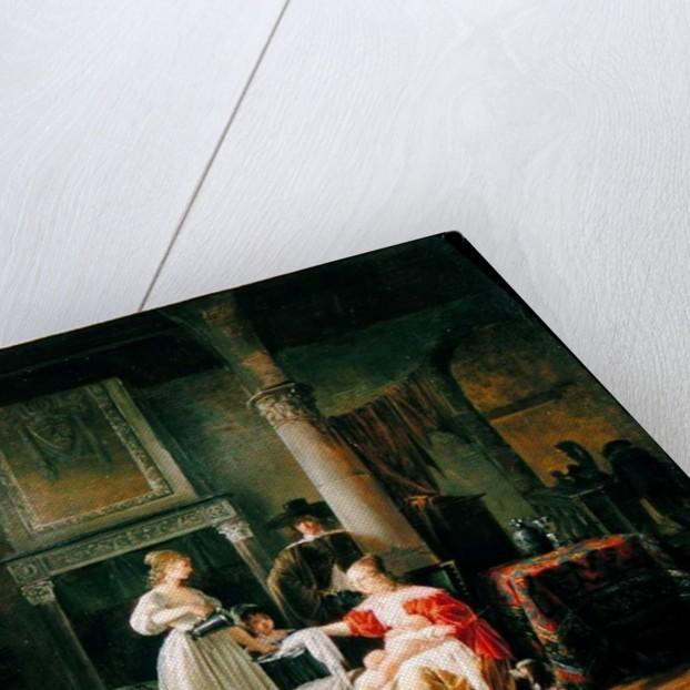 A Nursery Scene by Jean Baptiste Mallet