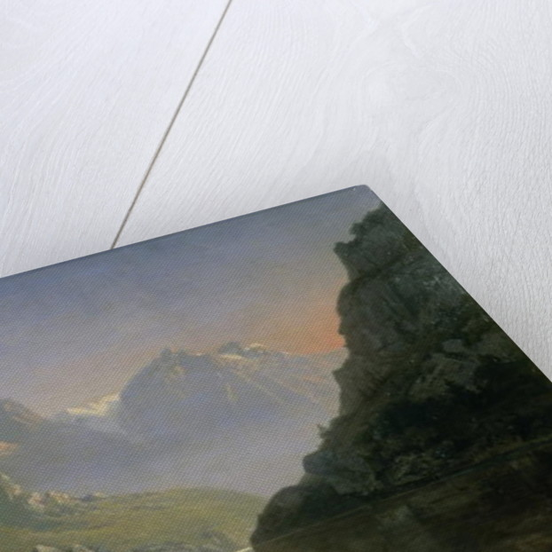 Souvenir of Savoy; Sunrise in the Mountains by Josephine Bowes
