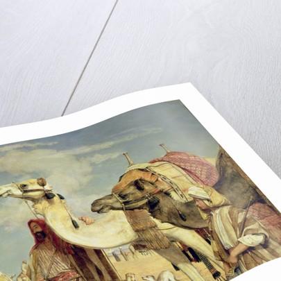 Greetings in the Desert, Egypt 1855 by John Frederick Lewis