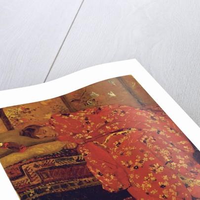 Girl in a Red Kimono by Georg-Hendrik Breitner