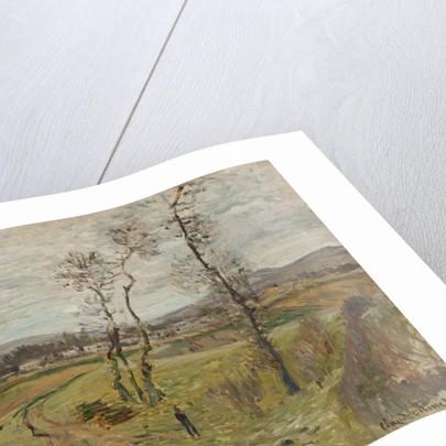 Gennevilliers Plain; La Plaine de Gennevilliers, 1877 by Claude Monet