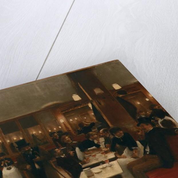 La Brasserie, 1883 by Jean Beraud