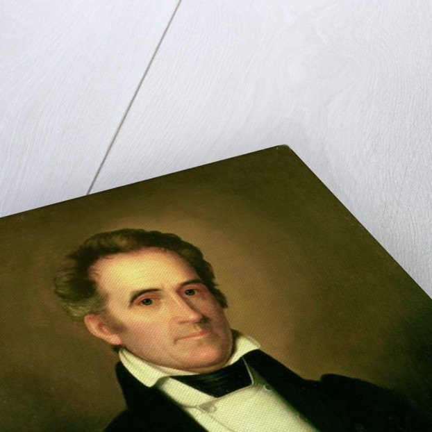Portrait of Richard Mentor Johnson by Rembrandt Peale