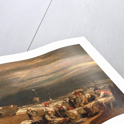 A Fishmarket on the Beach, c.1802-04 by Joseph Mallord William Turner