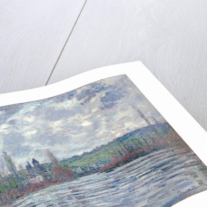The Seine in Flood at Vetheuil, 1881 by Claude Monet