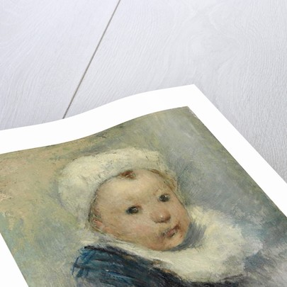 Portrait of a child, possibly Aline Gauguin, c.1878 by Paul Gauguin