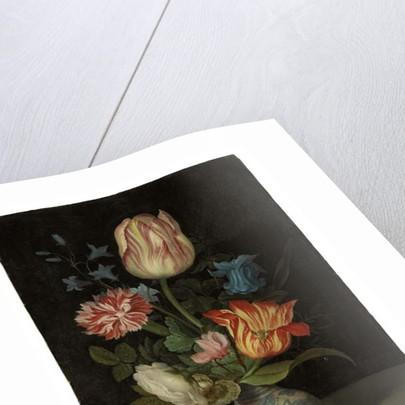Flowerpiece in a Wanli vase by Balthasar van der Ast