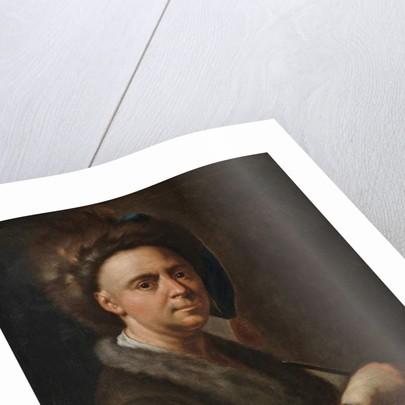 Portrait of the artist by Francesco Trevisani