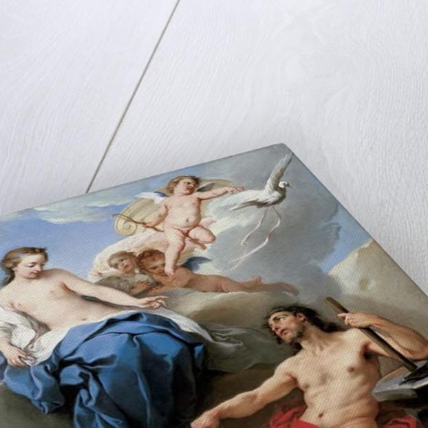 Venus requesting Vulcan to make arms for Aeneas by Carle van Loo