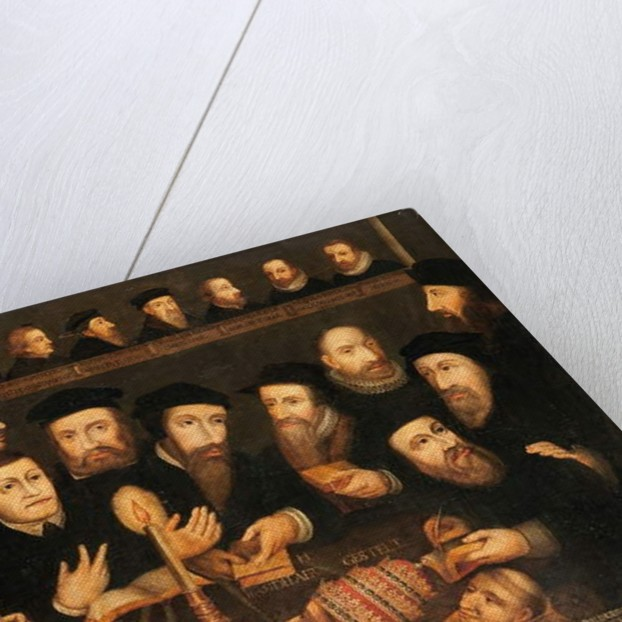 't Licht is op den kandelaer gestelt by Dutch School