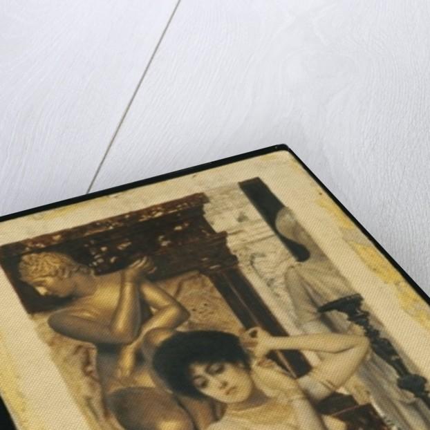 Study for 'Allegory of Sculpture, 1890 by Gustav Klimt