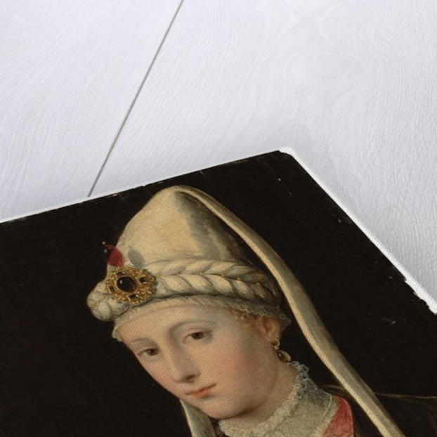 Portrait of a woman, possibly Haseki Hürrem Sultan by Tiziano Vecelli Titian