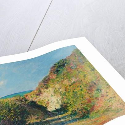 The sunken path, 1882 by Claude Monet