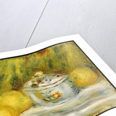 Sugar Bowl and Lemons, 1915 by Pierre Auguste Renoir