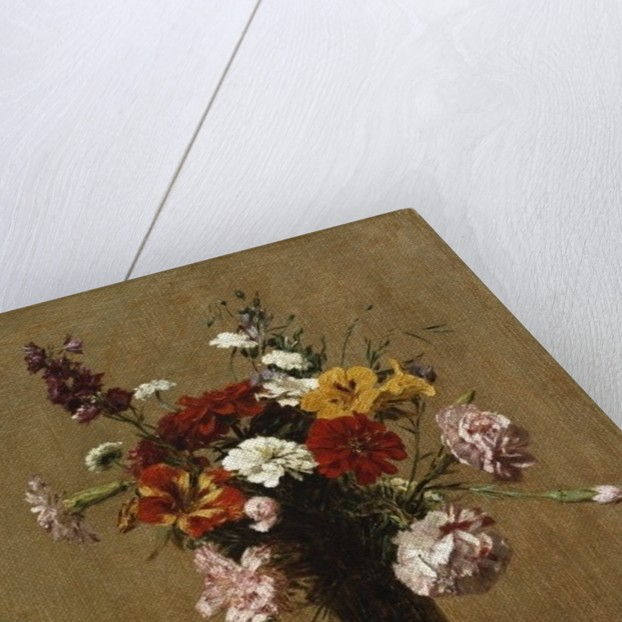 Small Bouquet, 1891 by Ignace Henri Jean Fantin-Latour