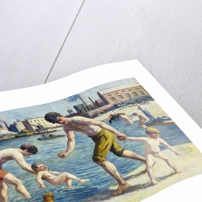 Bathers by Maximilien Luce
