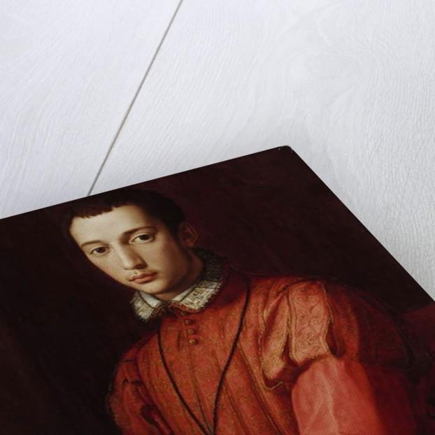 Portrait of Francesco I de' Medici by Agnolo di Cosimo Bronzino