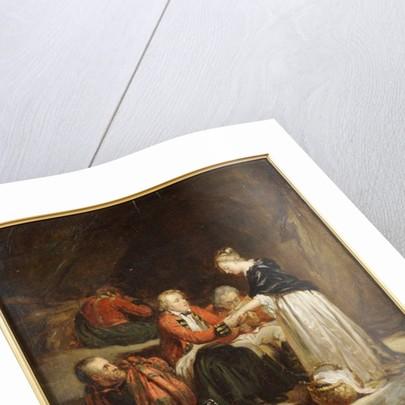 Edward in Scotland by Hippolyte Delaroche