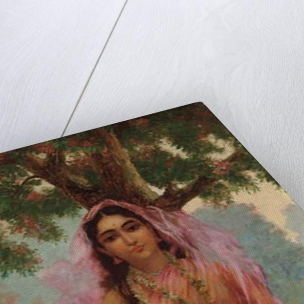 Vasantasena by Raja Ravi Varma
