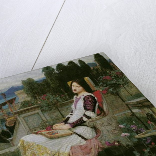 St. Cecilia by John William Waterhouse
