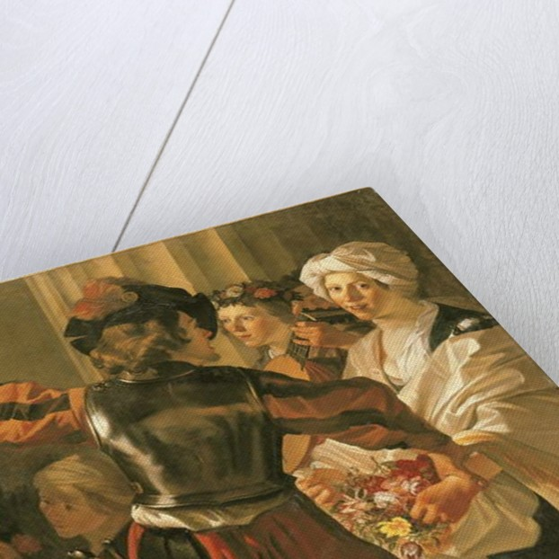 An Offering to Ceres by Dirck Baburen van