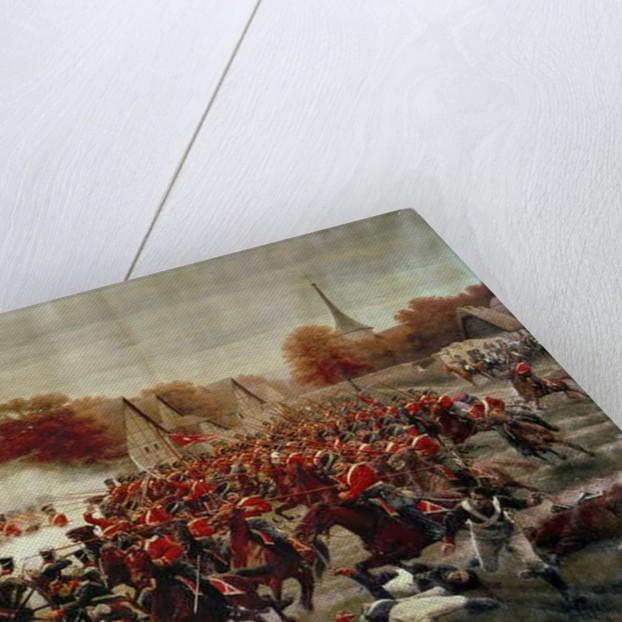 Cossacks Charging the Guns by Jan Rosen