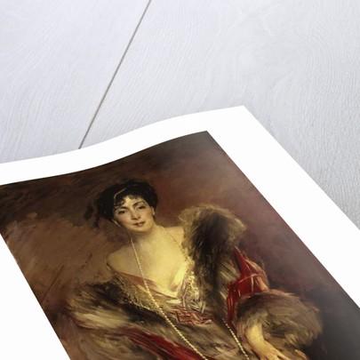 Portrait of Josefina A. de Errazuriz, 1912 by Giovanni Boldini