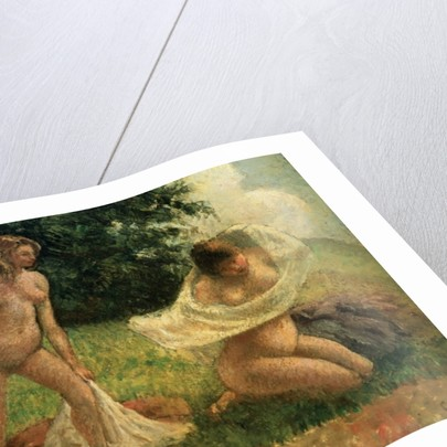 The Bathers by Camille Pissarro