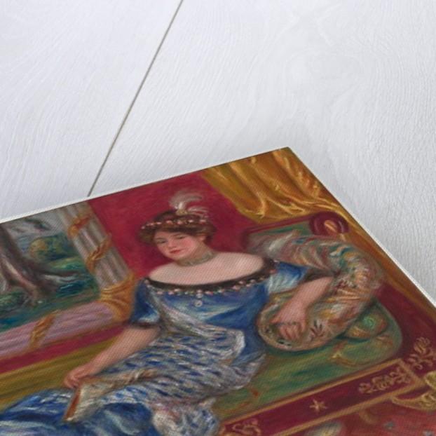 Madame de Galéa à la méridienne, 1912 by Pierre Auguste Renoir