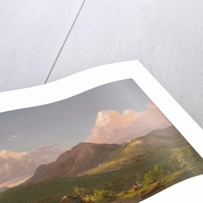 Mount Newport on Mount Desert Island, c.1851-53 by Frederic Edwin Church