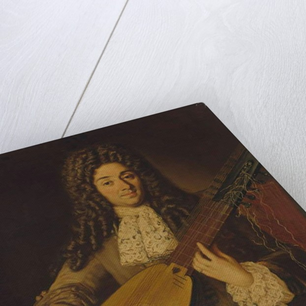 Portrait of a musician, probably Petruccio by Neapolitan School