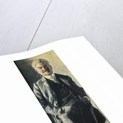 Portrait of Leopold Czihaczek, 1907 by Egon Schiele