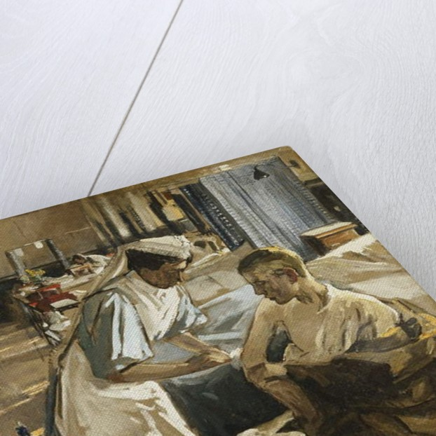 The First Wounded, London Hospital, 1914, 1914 by John Lavery