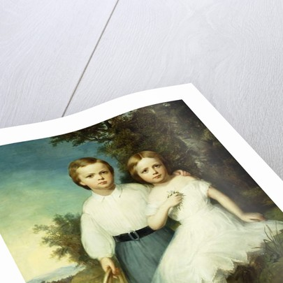 Alice and Andrew McCormick, c.1864 by Thomas Buchanan Read