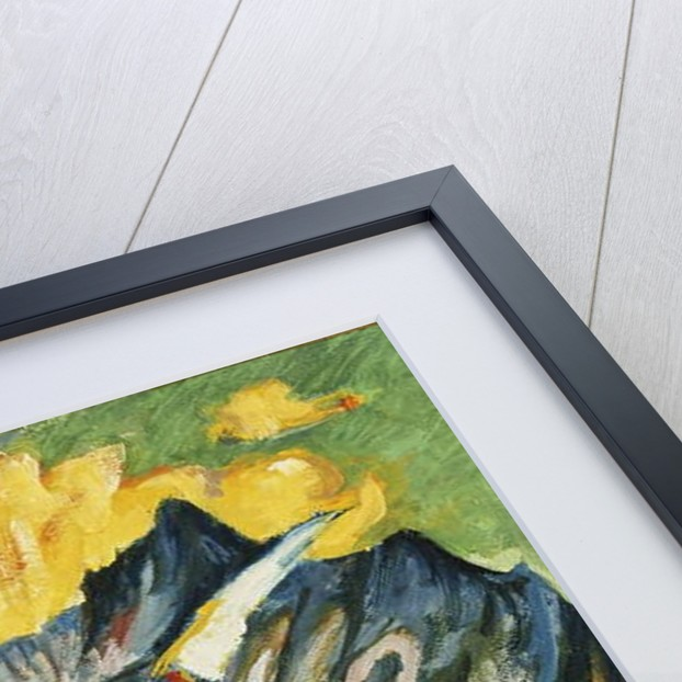Alpleben, Triptych by Ernst Ludwig Kirchner