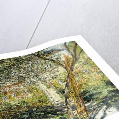A Garden in Vetheuil by Claude Monet