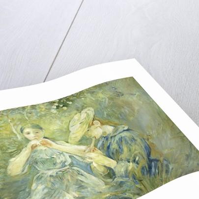 Le Flageolet, 1890 by Berthe Morisot