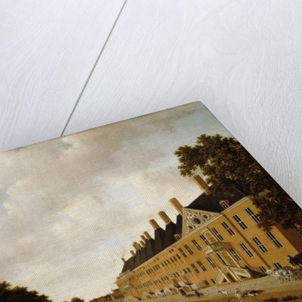 A View of the Princessgracht, The Hague by Joris van der Hagen