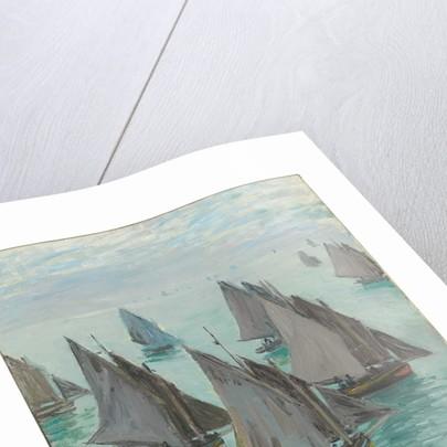 Fishing Boats, Calm Sea, 1868 by Claude Monet
